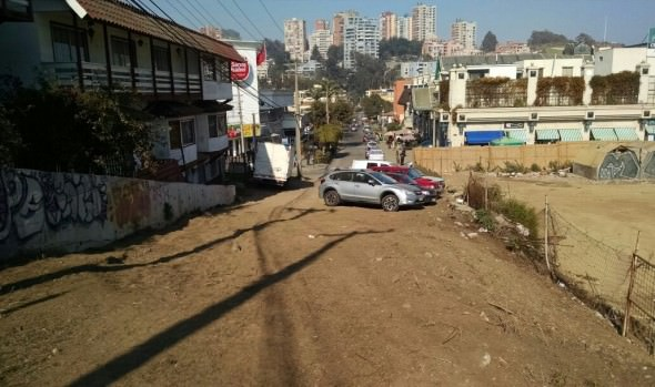Municipalidad de Viña del Mar avanza en mejoramiento vial de Reñaca