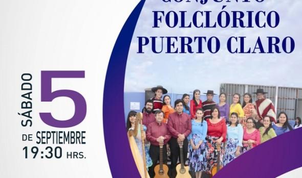 Municipalidad de Viña del Mar invita a concierto de conjunto folclórico Puerto Claro