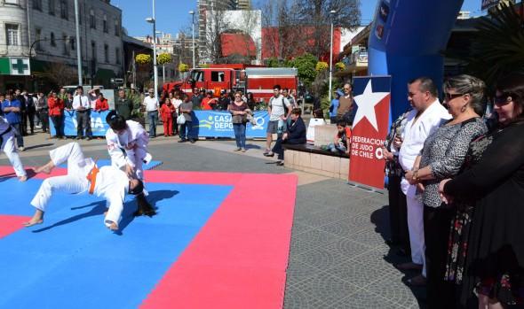 Los mejores exponentes del judo participarán en torneo internacional Copa Viña Ciudad del Deporte