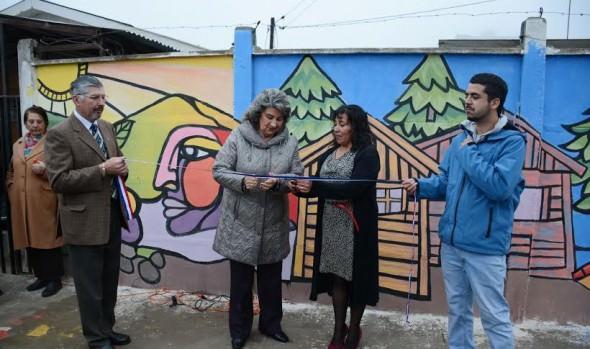 Conmemoración de 50 años de llegada de primeros habitantes a Gómez Carreño fue encabezada por alcaldesa Virginia Reginato