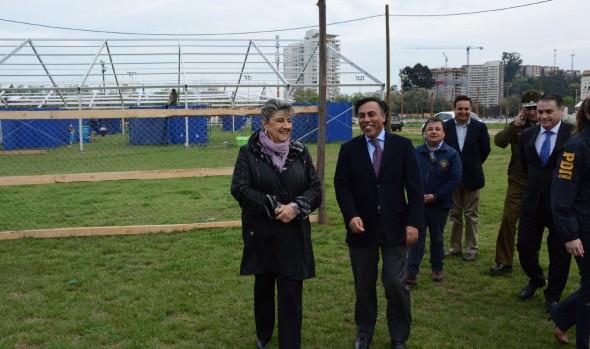 Medidas de seguridad para Fiestas Patrias en Sporting dieron a conocer alcaldesa Virginia Reginato y autoridades policiales