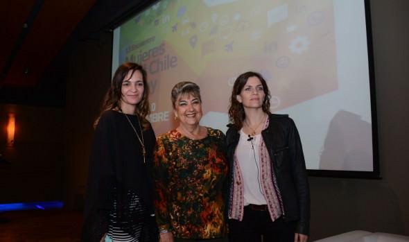 Al  13º encuentro de mujeres en el Chile de hoy asistió alcaldesa Virginia Reginato