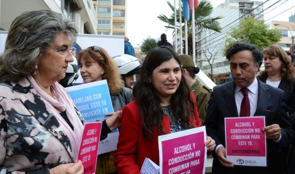 Municipalidad de Viña del Mar y Fundación Emilia llaman a la prevención vial en Fiestas Patrias