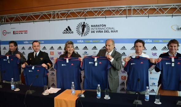 Antecedentes del Maratón Internacional  Viña del Mar  fueron dados a conocer por alcaldesa Virgnia Reginato