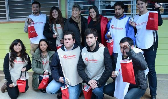 En Viña del Mar se lanzó colecta para financiar la educación de niños que se rehabilitan en COANIQUEM
