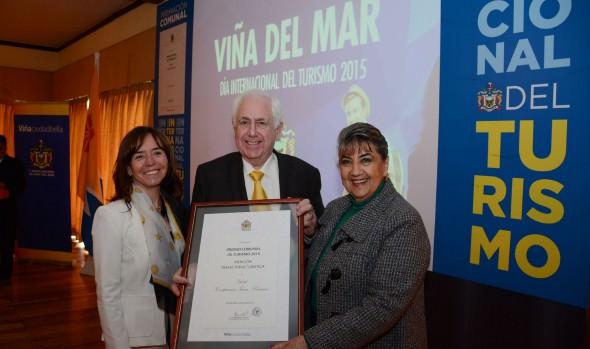 Municipalidad de Viña del Mar entregó distinciones en el Día Mundial del Turismo