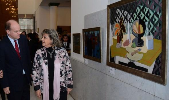 Exposición de Pinturas Restauradas del Palacio Vergara se extiende hasta el 16 de octubre