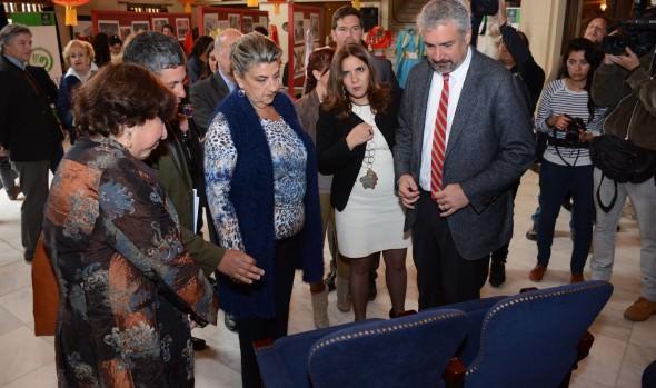 Consejo de la Cultura entregó recursos para continuar restauración del Teatro Municipal de Viña del Mar