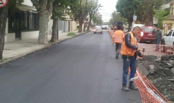 Primera etapa de recarpeteo que ejecuta el Municipio de Viña del Mar en calle 3 norte se encuentra concluida