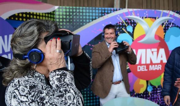 Inédita experiencia para conocer el Festival y el anfiteatro de la Quinta Vergara  implementó el municipio de Viña del Mar