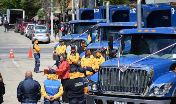 Municipio de Viña del Mar incorpora nuevos  camiones inteligentes para el retiro de aseo domiciliario