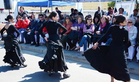Escolares de Reñaca Alto realizaron tradicional desfile por nuevo aniversario del sector
