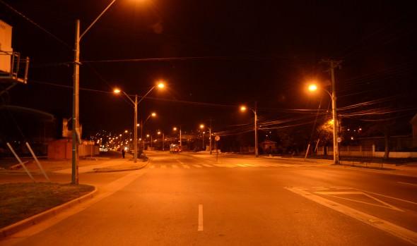 Municipio de Viña del Mar continúa mejorando la iluminación en sectores altos de la ciudad
