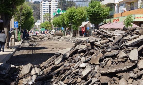 $2.000 millones  ha invertido  el Municipio de Viña del Mar en reparación de calles