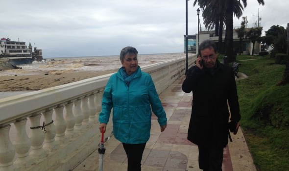 Viña del Mar aguanta sin mayores complicaciones intenso sistema frontal. informó alcaldesa Virginia Reginato