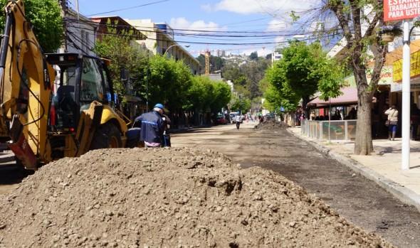 Este viernes quedará habilitada al tránsito vehicular calle Quinta, confirmó alcaldesa Virginia Reginato