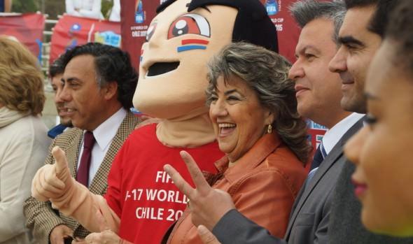 En Viña del Mar dieron la bienvenida a la Copa mundial sub-17 de la FIFA Chile 2015