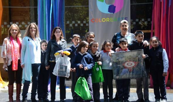 """Premiación de Concurso nacional """"Colorearte"""" fue encabezado por alcaldesa Virginia Reginato"""