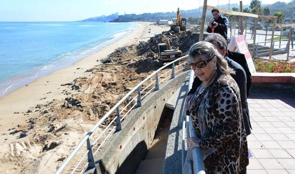 Recuperación del borde costero