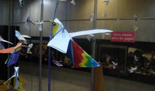 Con construcción de gran móvil colectivo, el Museo Artequin acerca el Festival de Aves de Viña del Mar a los niños