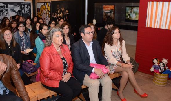 Profesores de toda la región participaron en anti seminario de arte y educación, el que fue inaugurado por alcaldesa Virginia Reginato