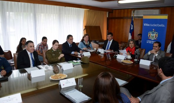 Consejo de seguridad pública de Viña del Mar presenta proyectos de intervención por más de $200 millones