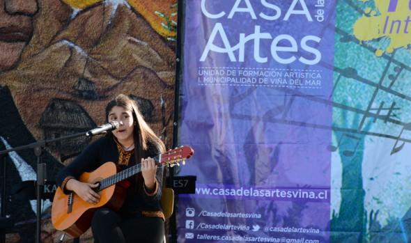 Con gran éxito se realizó 1º festival interescolar de canto de Viña del Mar , que fue presidido por alcaldesa Virginia Reginato