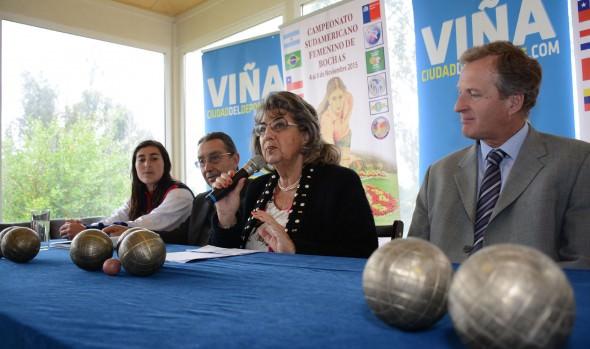 Viña del Mar será sede del campeonato sudamericano femenino de bochas