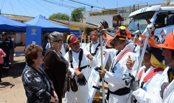 Municipio de Viña del Mar  implementa completo plan de gestión ambiental y aseo en espacios públicos en toda la comuna