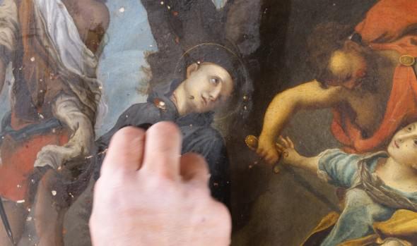 Municipio de Viña del Mar y Senado acuerdan restaurar 52 pinturas más del Palacio Vergara