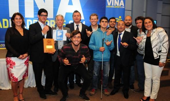 42 deportistas de diversas disciplinas fueron galardonados por  Municipalidad de Viña del Mar