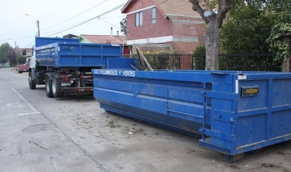 Municipio de Viña del Mar informa ubicación de contenedores para depósito de  material voluminoso