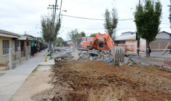 Municipio de Viña del Mar comenzó ejecución de reposición de vía estructurante de Gómez Carreño