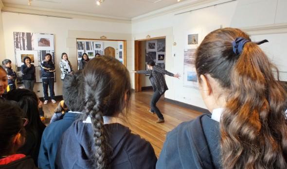 Alumnos de Escuela Especial participan en taller del Programa de Educación Patrimonial PASOS