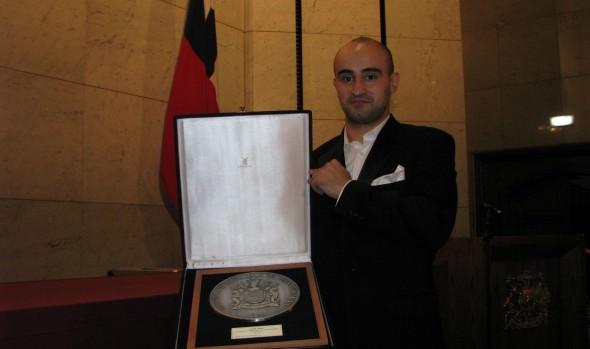 "Violinista ruso Igor Pikayzen ganó XLII Concurso musical ""Dr. Luis Sigall"""