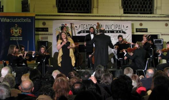 Municipalidad de Viña del Mar invita a concierto de Orquesta Marga Marga y soprano Maureen Marambio