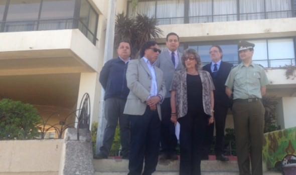 Autoridades aúnan esfuerzos para potenciar seguridad en sector turístico- gastronómico  de Viña del Mar