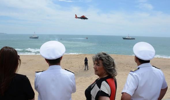 Con llamado al autocuidado se inauguró en Viña del Mar la  temporada de Playas 2015-2016