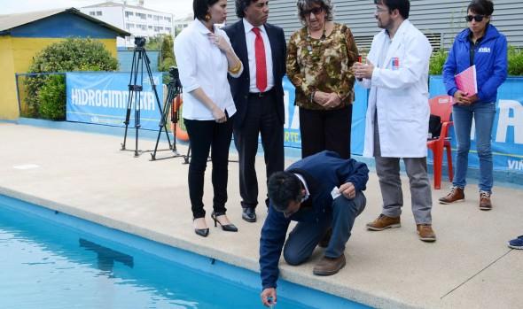 Piscinas municipales de Viña del Mar cumplen con  normativa de higiene y seguridad