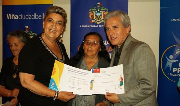 Con certificación culminó 9ª versión de Programa vínculos en Viña del Mar