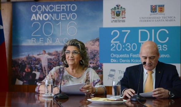 Municipalidad de Viña del Mar y UTFSM invitan a Concierto de Año Nuevo