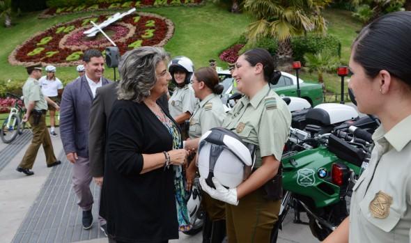 Carabineros refuerza seguridad veraniega en Viña del Mar y la región con llegada de nuevo contingente policial