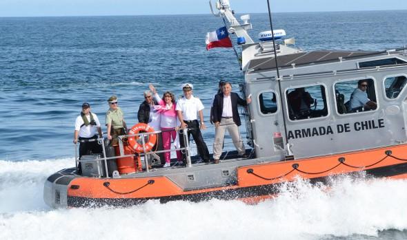 Comenzó instalación de plataformas de lanzamiento de fuegos artificiales en Viña del Mar