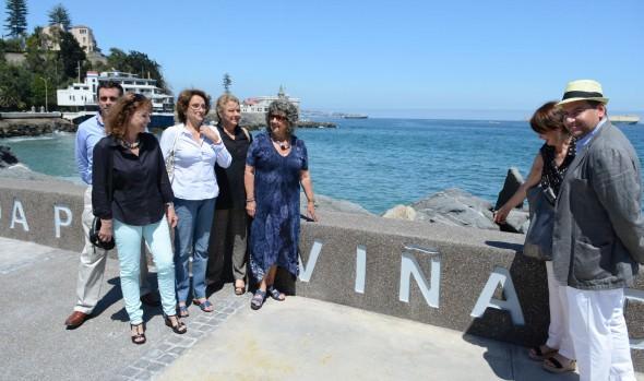Remodelada Av. Perú fue entregada al uso público por alcaldesa Virginia Reginato