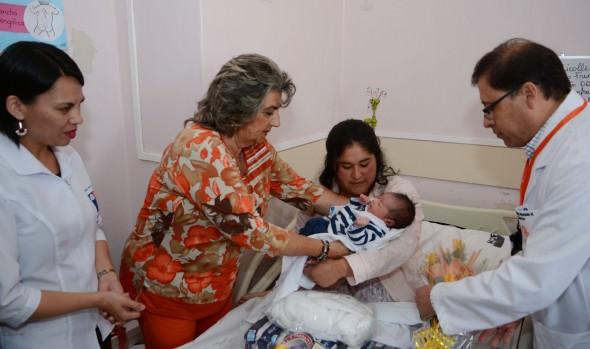 Viñamarino, primera guagua de la región fue visitada por alcaldesa Virginia Reginato