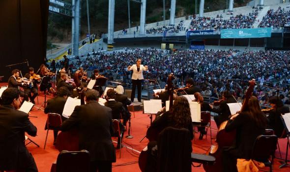 Exitoso inicio de 21ª versión de  conciertos de verano en Viña del Mar