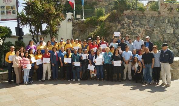 Funcionarios de Parques y Jardines del municipio de Viña del Mar se capacitó en Patrimonio Cultural y Natural
