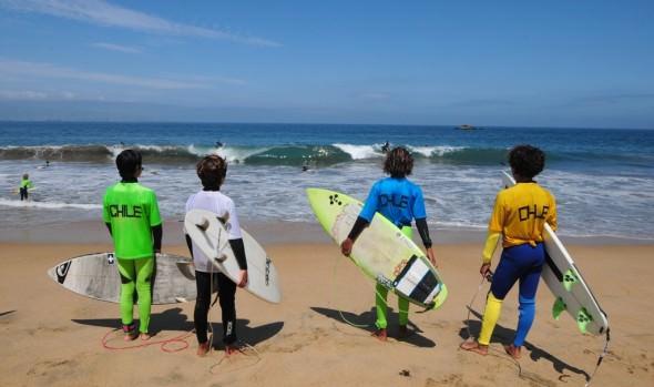 En Viña del Mar se inicia temporada de surf de este año
