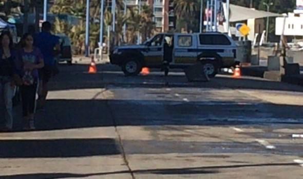 Llamado a la precaución y autocuidado, debido a intensas  marejadas realizó alcaldesa Virginia Reginato