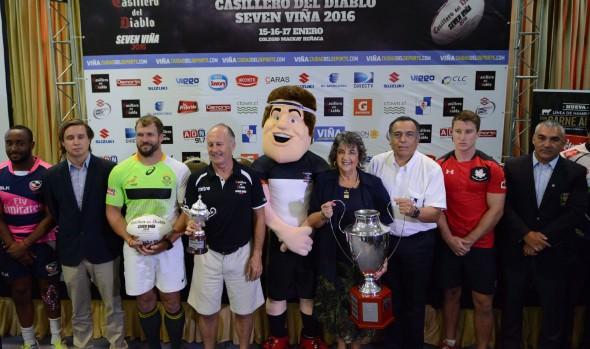 Cuatro de las mejores selecciones del mundo participan este fin de semana  en el Seven  viña 2016